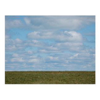 Blue Skies Postcard
