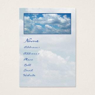 'Blue Skies'  Profile Card