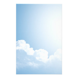 Blue Skies Personalized Stationery