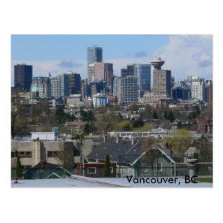 Blue Skies, Vancouver, BC Postcard