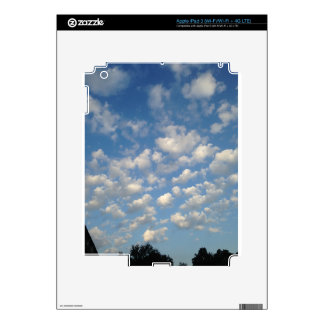 Blue Skies with while clouds iPad 3 Skins
