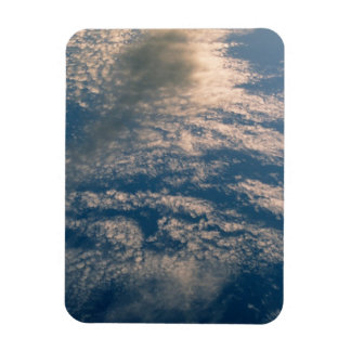 Blue SKly White Clouds Premium Magnet