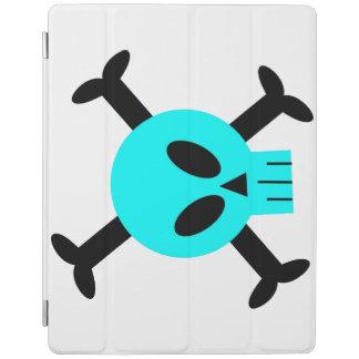 Blue Skull And Crossbones iPad Cover