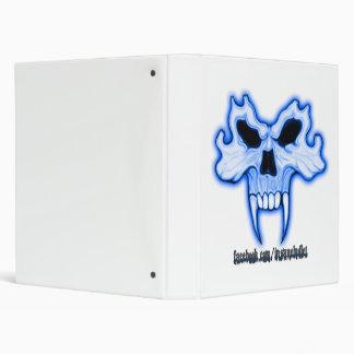 Blue Skull Binder