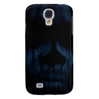 Blue Skull Samsung Galaxy S4 Covers