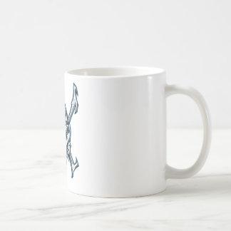 Blue Skull Coffee Mugs