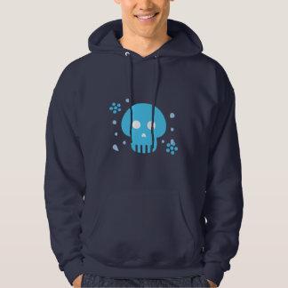 Blue Skull Hoodie