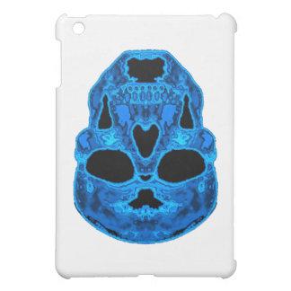 Blue Skull Horror Mask iPad Mini Cases