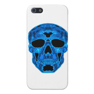 Blue Skull Horror Mask iPhone 5/5S Case