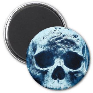 Blue Skull Magnet