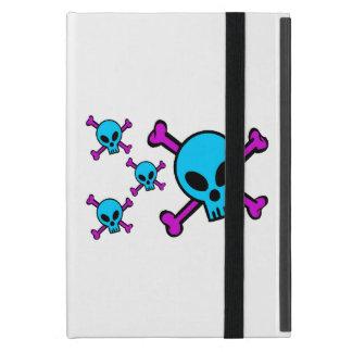 Blue Skull Pink Crossbones Cover For iPad Mini