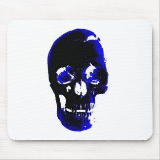 Blue Skull Pop Art Fantasy Mouse Pad