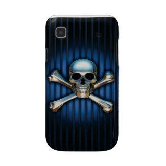 Blue Skull Samsung Galaxy Case casematecase
