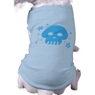 Blue Skull Shirt