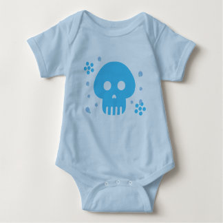 Blue Skull Tee Shirt