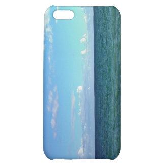 Blue sky against sea iPhone 5C cases