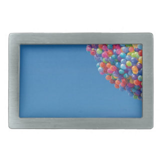 Blue Sky and Baloons! Belt Buckle