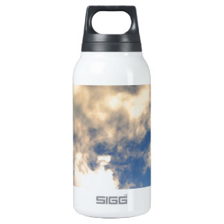 Blue Sky and Clouds CricketDiane Insulated Water Bottle