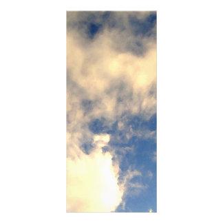Blue Sky and Clouds CricketDiane Custom Rack Card