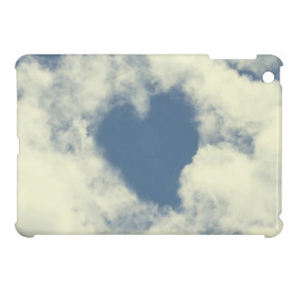 Blue Sky and Clouds Hearts Case For The iPad Mini