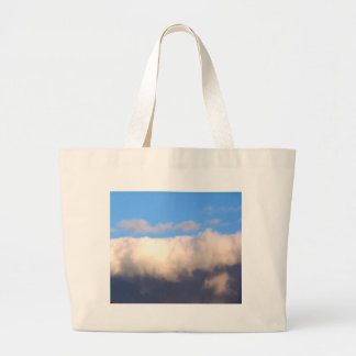 Blue Sky and Dark Clouds Canvas Bag