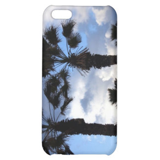 Blue Sky and Palm Trees iPhone 5C Case