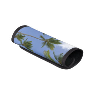 Blue Sky and Palm Trees on Luggage Handle Wrap