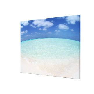 Blue sky and sea 10 canvas print