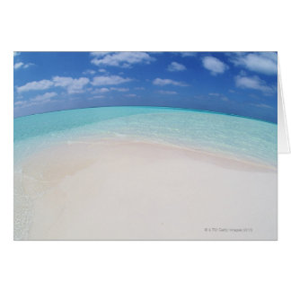 Blue sky and sea 10 card