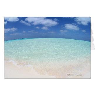 Blue sky and sea 12 card