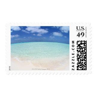 Blue sky and sea 12 postage