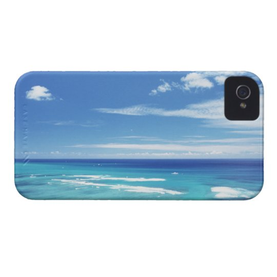 Blue sky and sea 17 iPhone 4 cover