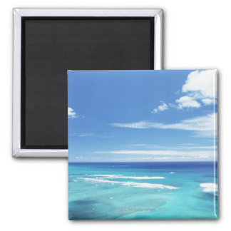 Blue sky and sea 17 magnet