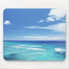 Blue sky and sea 17 mouse pad