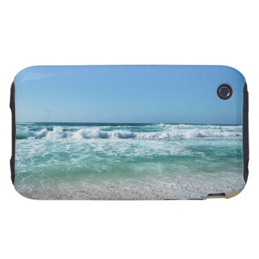 Blue sky and sea 18 iPhone 3 tough case