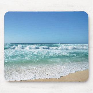 Blue sky and sea 18 mouse pad
