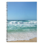 Blue sky and sea 18 notebook