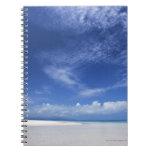 Blue sky and sea 2 note books