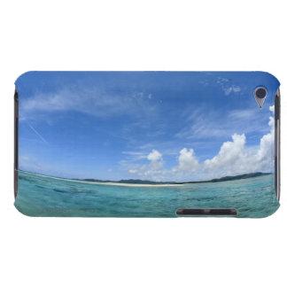Blue sky and sea 3 iPod Case-Mate case