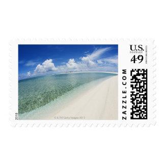 Blue sky and sea 5 postage