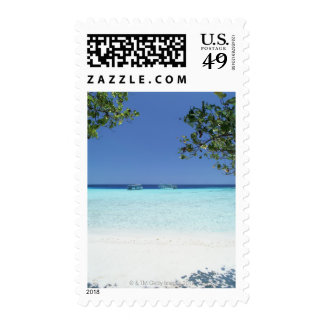 Blue sky and sea 9 postage stamps