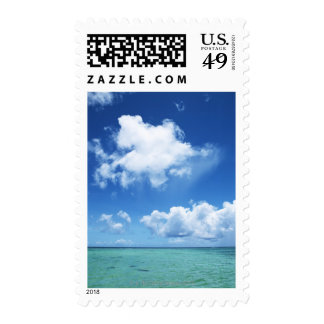 Blue Sky and the Sea Postage