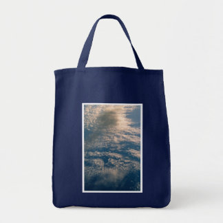 Blue Sky And White Clouds Bag