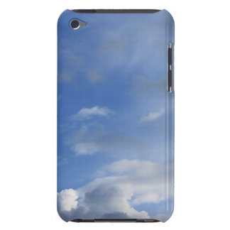 Blue sky and white clouds barely there iPod cases