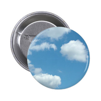 blue sky and white clouds button