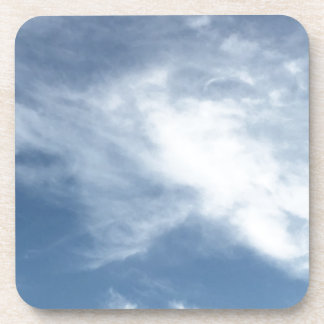 Blue Sky and  White Clouds Coaster