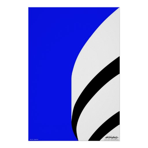 Blue Sky - Art Gallery Selection Poster