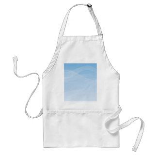 Blue Sky Background Adult Apron