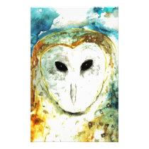 Blue Sky barn Owl Stationery