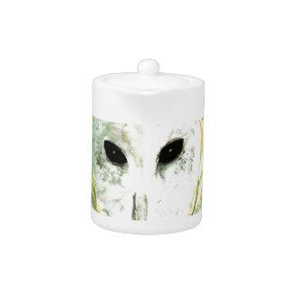 Blue Sky barn Owl Teapot